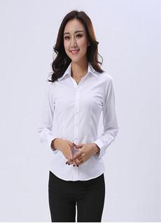 女式长袖衬衫V103