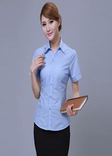 女式夏季短袖衬衫V1323