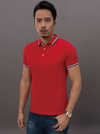 高端韩版商务休闲短袖POLO衫8888-3